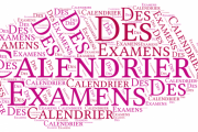 Calendrier des Examens Novembre 2020