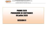 Planning Soutenances 2019/2020 Session 1 DMS